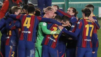 صورة برشلونة يقود الفريق  لنهائي السوبر الإسباني بفضل ركلات الترجيح