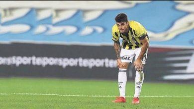 صورة تعرض لاعب تركي لإصابة تعتبر الأولى من نوعها في عالم الرياضة