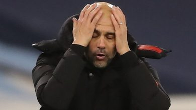 صورة خمسة من لاعبي مانشستر سيتي لن يشاركوا في مباراة تشيلسي