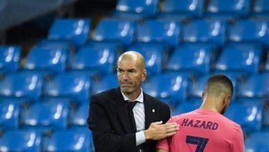 صورة ريال مدريد: زين الدين زيدان متأثراً بالهزيمة أمام أتلتيك بيلباو