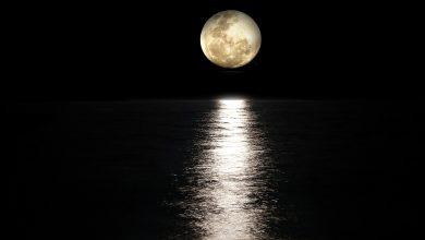 صورة عندما يكون القمر في طور المحاق فانك تواجه