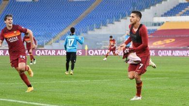 صورة فريق روما ينزع الفوز من سبيزيا