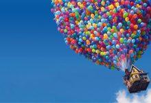 صورة فسر سبب ارتفاع بالون الهيليوم في الهواء أن كثافة الهيليوم أكبر من كثافة الهواء.