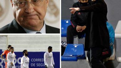 صورة إنقسام جماهير لريال مدريد وسببها الخسارات المتتالية