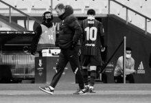 صورة ميسي أمام سيناريو خطير مع برشلونة