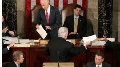 صورة تعليق جلسة الكونغرس للمصادقة على الانتخابات