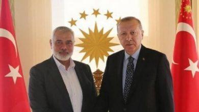 """صورة صحيفة التايمز البريطانية تكشف : أردوغان يتقرب من """"اسرائيل"""" بورقة حماس"""