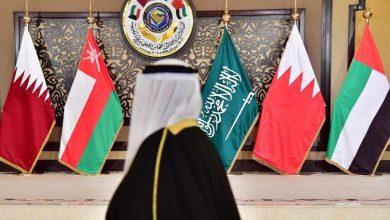 صورة قادة ورؤساء الوفود الخليجية يصلون إلى مقر القمة