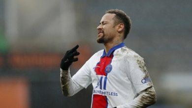 صورة إصابة نجم باريس سان جيرمان اللاعب  نيمار