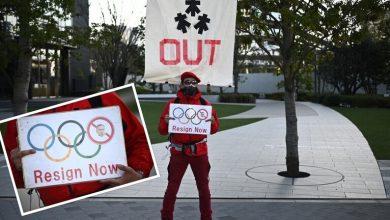صورة استقالة رئيس اللجنة التنظيمية لأولمبياد طوكيو