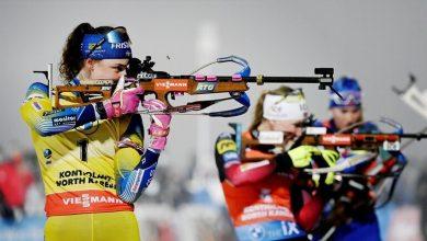 صورة النرويج تعتبر الأولى في بطولة العالم للبياثلون 2021