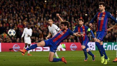 صورة برشلونة يذكر باريس سان جيرمان بهدف ذهبي قبل بداية مباراة اليوم