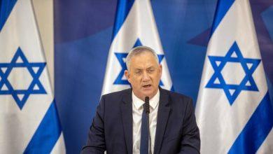 صورة بيني غانتس إيران تقف وراء الهجوم على السفينة الإسرائيلية