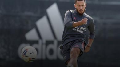 صورة يغيب هازارد عن تدريبات ريال مدريد