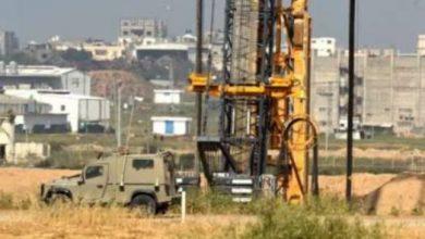 صورة الاحتلال : اكتمال بناء الجدار المخصص لمحاربة الأنفاق على حدود قطاع غزة