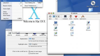 صورة آبل أطلقت نظام Mac OS X قبل 20 عامًا