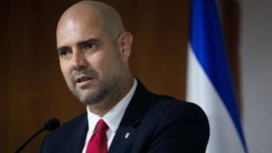 صورة وزير الامن الاسرائيلي: ستتغير الأوضاع في الوسط العربي