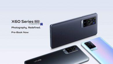 صورة الإعلان عن سلسلة Vivo X60 الرائدة بكاميرات Zeiss