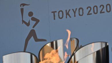 صورة انطلاق الشعلة الأولمبية بدون جمهور