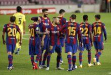 صورة فريق برشلونة يستفز الجماهير العربية على وقع أحداث القدس