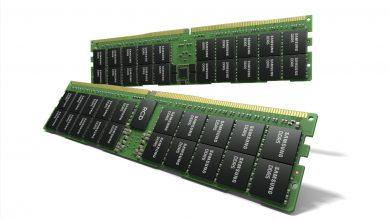 صورة سامسونج تطور وحدات ذاكرة DDR5 بسعة 512 جيجابايت