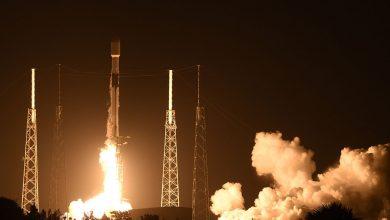 صورة سبيس إكس تطلق صاروخ Falcon 9 للمرة التاسعة