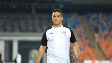 صورة ضم اللاعب حسام حسن مهاجم في منتخب مصر