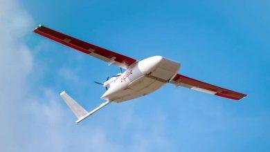 صورة طائرات Zipline المسيرة تنقل لقاحات كورونا