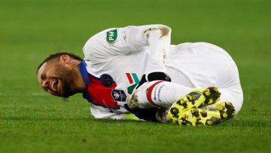 صورة غياب نيمارعن مباراة  نهائي كأس فرنسا