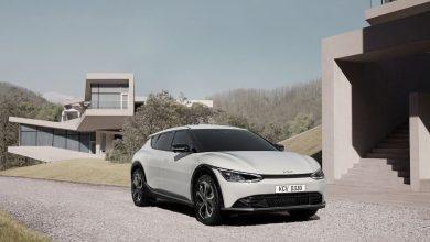 صورة كيا تعرض الصور الأولى للسيارة الكهربائية EV6