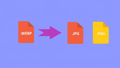 صورة كيفية تحويل الصور بتنسيق WEBP إلى تنسيق JPEG أو PNG بسهولة