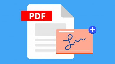 كيفية إنشاء توقيع رقمي لمستندات PDF في حاسوبك بسهولة