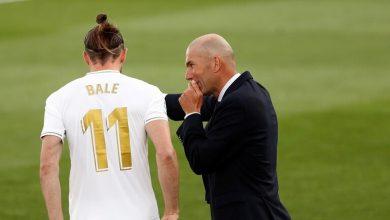 صورة موقف زيدان من عودة بيل إلى ريال مدريد