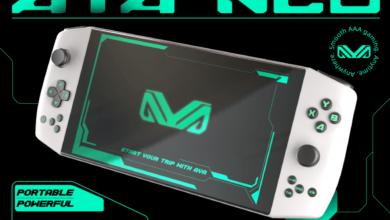 Aya Neo .. الحاسب المحمول للألعاب متوفر الآن عبر Indiegogo