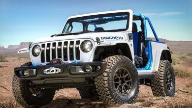 صورة Jeep Magneto .. سيارة رانجلر كهربائية