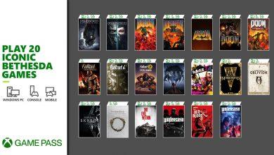 صورة Xbox Game Pass يحصل على 20 لعبة من ألعاب Bethesda