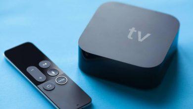 صورة آبل تطور جهاز Apple TV مزودًا بكاميرا ومكبر صوت