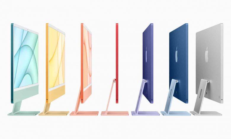 صورة آبل تعلن عن جهاز iMac الجديد كليًا