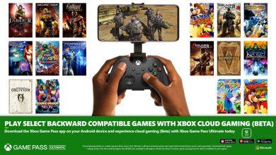 ألعاب Xbox و Xbox 360 الأصلية تصل إلى xCloud