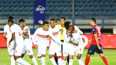 صورة الزمالك يبتعد في صدارة الدوري المصري