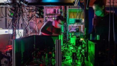 صورة الشبكة الكمومية المتعددة العقد تمهد الطريق للإنترنت الكمومي