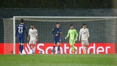 صورة ريال مدريد يضع نفسة في موقف صعب أمام مضيفه تشيلسي