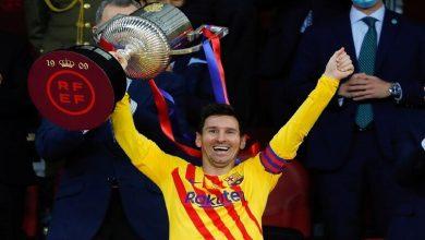 صورة ماذا قال ميسي بعد تتويج برشلونة بكأس إسبانيا