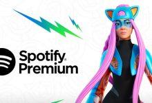 صورة مشتركو Fortnite Crew يحصلون على Spotify Premium