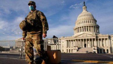 صورة مقتل شرطي أمريكي وإصابة آخر جراء هجوم امام مبنى الكونغرس