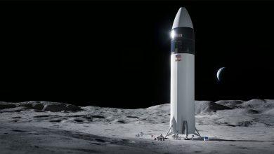 صورة وكالة ناسا تختار سبيس إكس لبناء المسبار القمري
