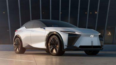 LF-Z من Lexus تقدم نظرة على السيارات الكهربائية القادمة