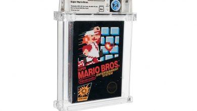 صورة Super Mario Bros تحطم الرقم القياسي لأغلى لعبة