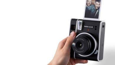 صورة instax mini 40 .. كاميرا فورية جديدة من فوجي فيلم