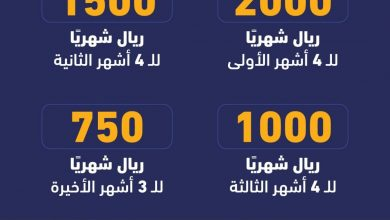 صورة رابط التقديم على اعانة البحث عن عمل بمبلغ 2000 ريال للباحثين عن العمل يقل تدريجياً